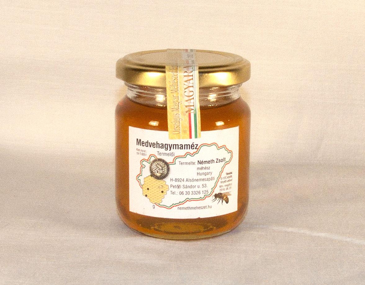 Medvehagyma méz 0,25kg