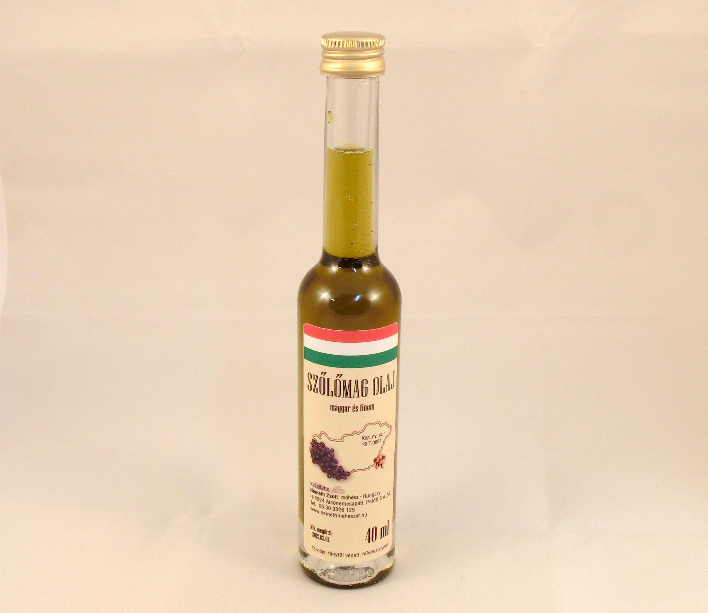 Szőlőmagolaj mini üveges 40 ml